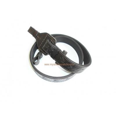 Řemen na zbraň podšitý gumou - 3 cm, stahovací