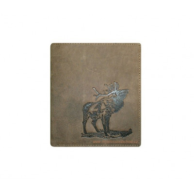 Myslivecká peněženka - jelen troubící 2 V