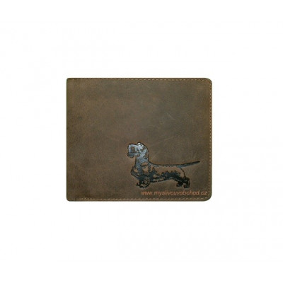 Myslivecká peněženka - jezevčík hrubostrstý Š