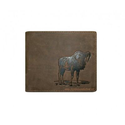 Myslivecká peněženka - muflon Š