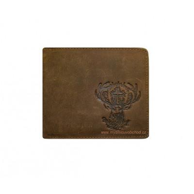Myslivecká peněženka - Sv. Hubertský jelen Š