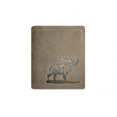 Myslivecká peněženka - jelen troubící 1 V