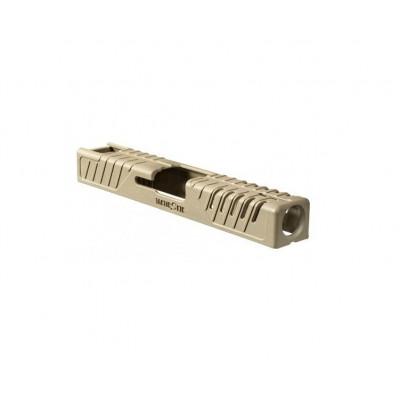 Taktický kryt závěru pro Glock 19 - pískový