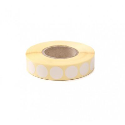 Zálepky na terče 19 mm - bílé