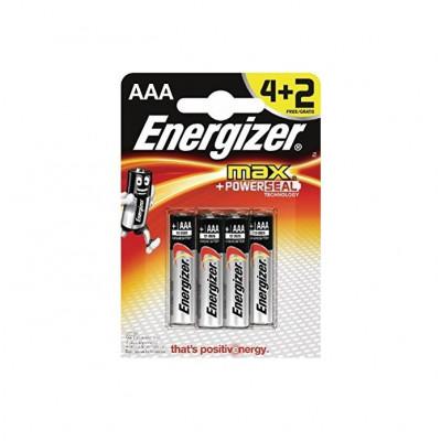Baterie Energizer MAX + PowerSeal AAA - 6 ks