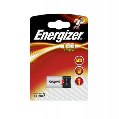Baterie Energizer CR123 - 1 ks