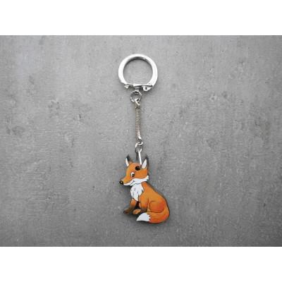 Dětská myslivecká klíčenka - liška