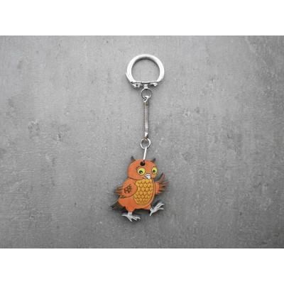 Dětská myslivecká klíčenka - sova
