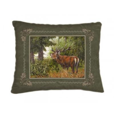 Dekorační polštář - jelen