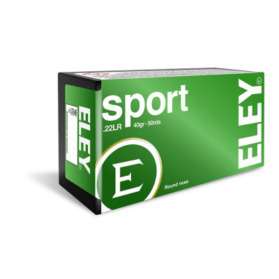 Náboj 22 LR Eley Sport - 50 ks