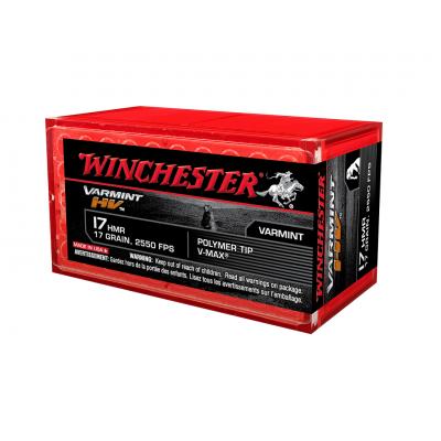 Náboj 17 HMR Winchester Varmint HV - 50 ks