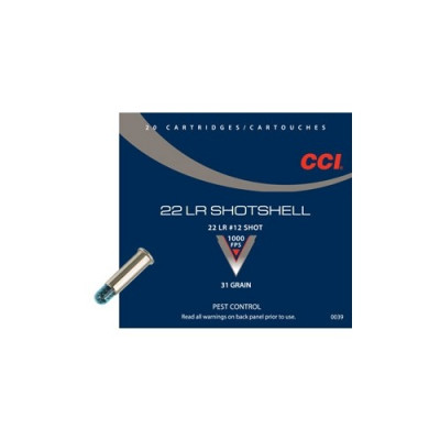 Náboj 22 LR CCI SHOTSHELL - 20 ks