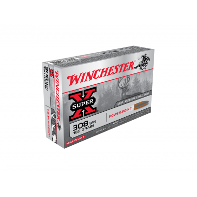 Náboj 308 Win. Winchester Power Point 11,7 g - 20ks