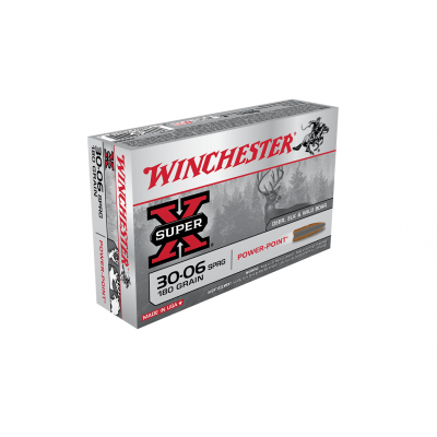 Náboj 30-06 Spring. Winchester Power Point 11,7 g - 20ks