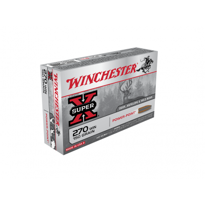 Náboj 270 Win. Winchester Power Point 9,7 g - 20ks