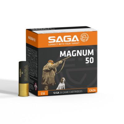 Náboj 12x76 SAGA MAGNUM 50 g - 25 ks