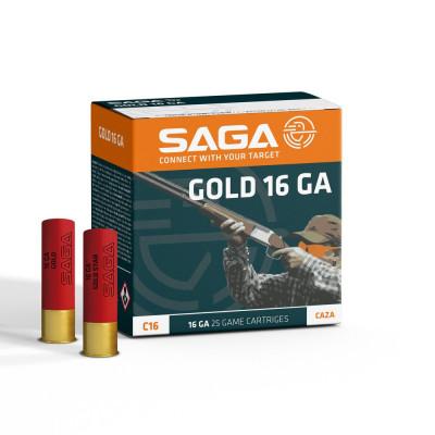Náboj 16x70 SAGA GOLD 28 g...