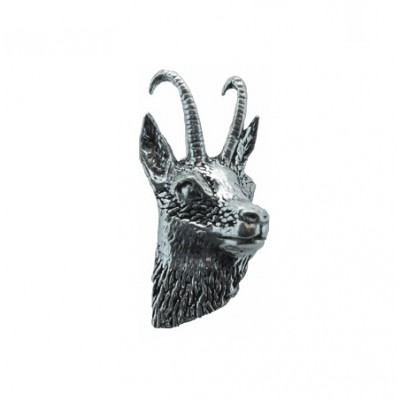 Odznak - hlava kamzíka