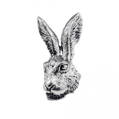 Odznak - hlava zajíce