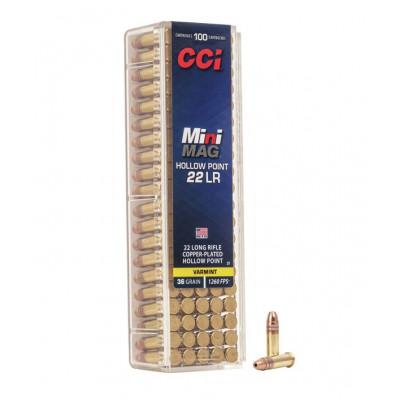 Náboj 22 LR CCI MINIMAG HP 36 GR - 100 ks