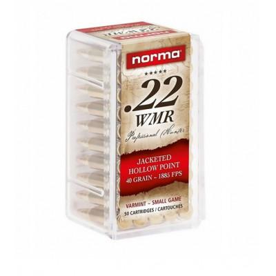 Náboj 22 WMR NORMA JHP - 50 ks