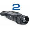Pulsar Helion 2 XP50 se vyznačuje optickým zvětšením 2,5x, které lze digitálně zvětšit až na 20x a detekční vzdálenosti až 1800 m. Modelová řada Helion 2 má nový senzor s vyšší citlivosti (NETD < 40 mK). Díky vysokému rozlišení senzoru 640x480 px model XP50 velmi ostrý a prokreslený do nejmenších detailů obraz.