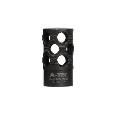 Úsťová brzda A-TEC Mini Break do 9,5 mm (.375), A-LOCK Mini
